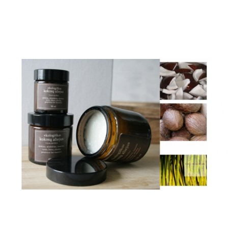Kokosų aliejus virgin (kvapnus)