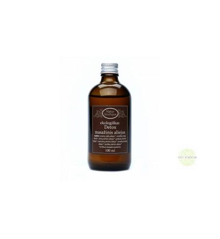 """Kūno masažinis aliejus """"Detox"""", Natur Boutique,100 ml."""