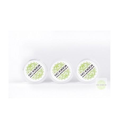 Mėginukas: balansuojantis šampūnas su rozmarinais ir citrina
