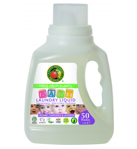 Kūdikių rūbelių skystas skalbiklis, 1,5 l. (50 skalbimų)